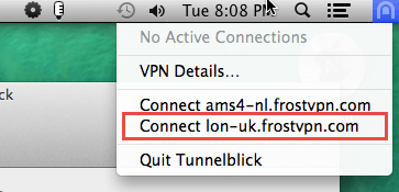 OpenVPN - Mac OS X - Step 9